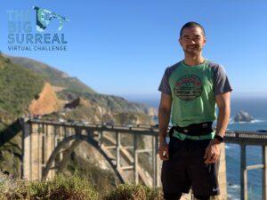 Big SURreal Virtual Challenge 21 Mile Run