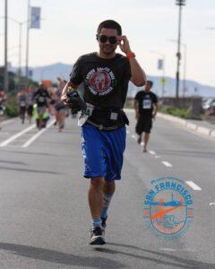 Coach Ian Cruz, Kaiser Permanente San Francisco Half Marathon Ambassador