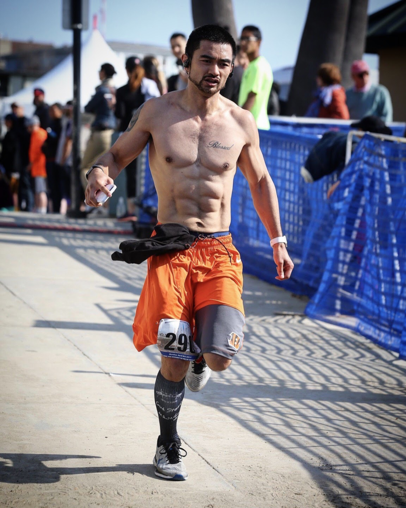 Running Mistakes article - Coach Ian Cruz running the Santa Cruz Half Marathon