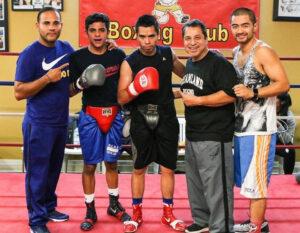 Hayward Boxing, Jesse Huerta and Coach Ian Cruz