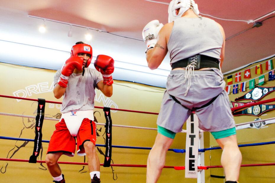 Eros Correa at Dreamland Boxing
