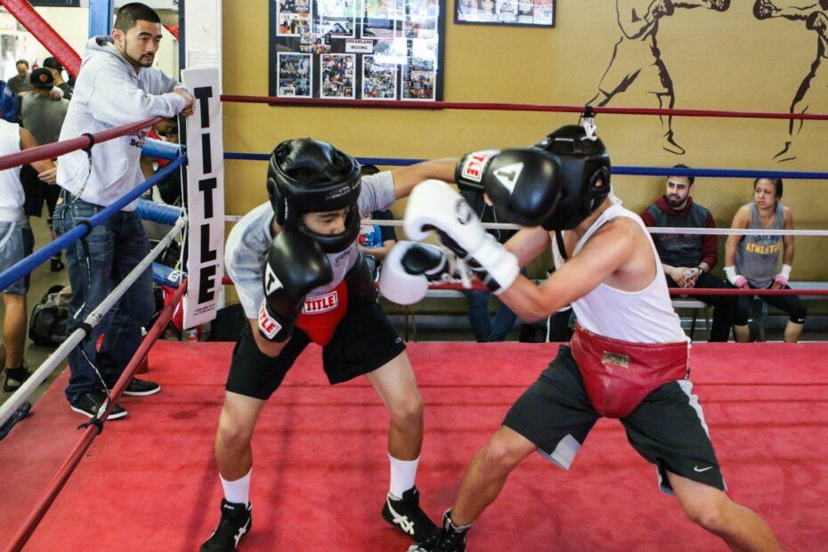 Sparring at Dreamland Boxing - Coach Ian Cruz Boxing