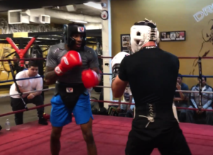 Willie Shaw vs Ali Ahmed (Dreamland Boxing)Sparring