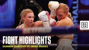 Shannon Courtenay vs Ebanie Bridges