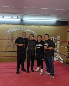 Lizette Lopez (MXN Boxing) and Sandra Magallon at Dreamland Boxing