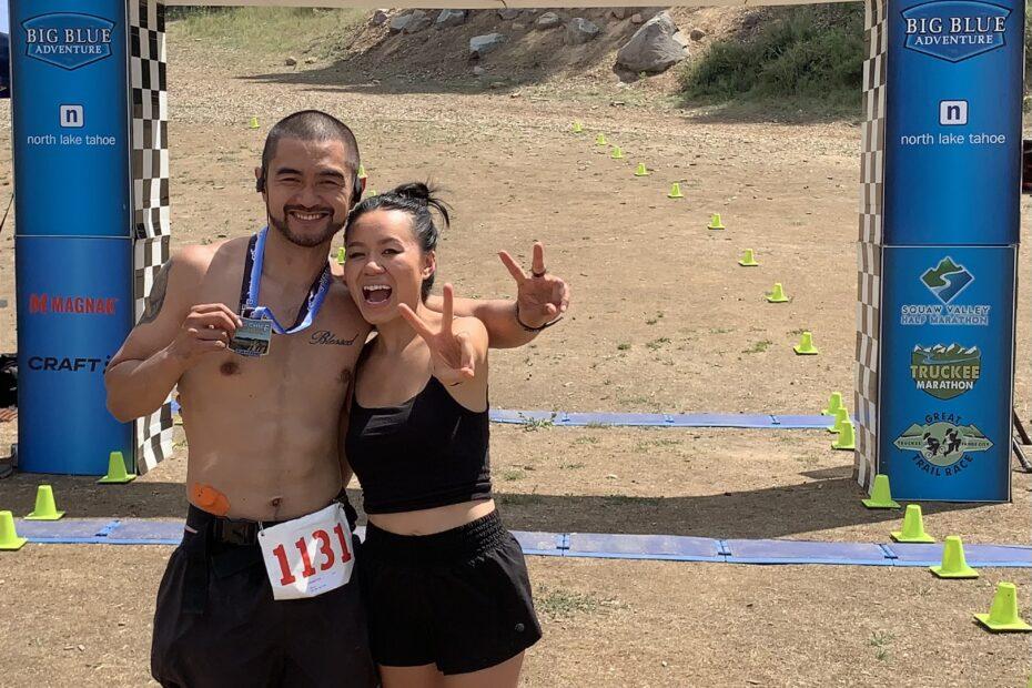 Coach Ian Cruz, Big Chief 50K Ultramarathon