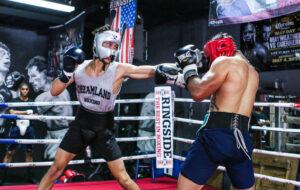 Mark Salgado and Justin Cardona Sparring at Pound 4 Pound Boxing