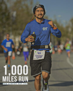 Coach Ian Running 1,000 miles - 2021 run streak