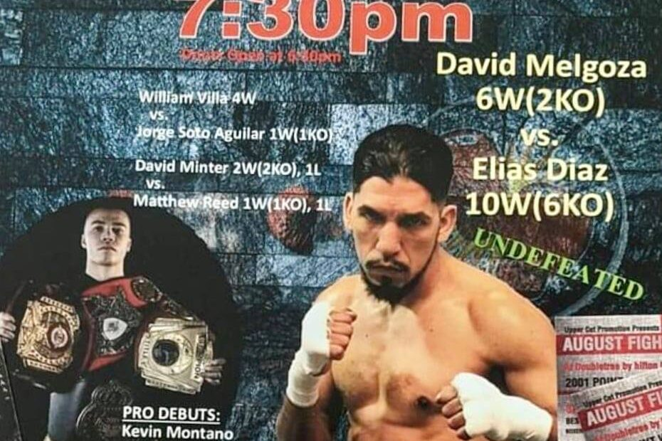 Hot August Fights - Uppercut Promotions - Pro Boxing 08-06-2021