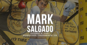 Mark Salgado - 2nd Pro Fight