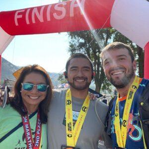 East Canyon Marathon Finish