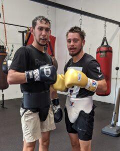 Mark Salgado and Ruben Villa