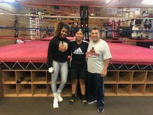 Sandra Magallon and Jesse Huerta1 at Dreamland Boxing